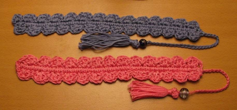 Armina's Ami-Nals: Crocheted Shell Bookmark