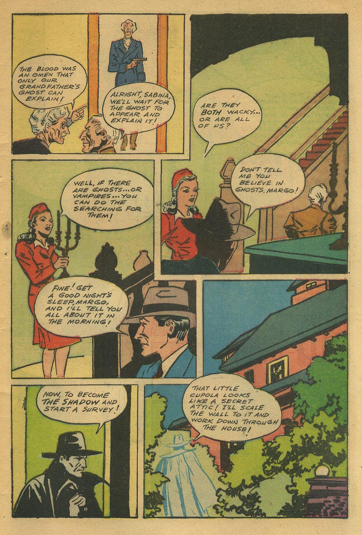 Read online Shadow Comics comic -  Issue #49 - 45