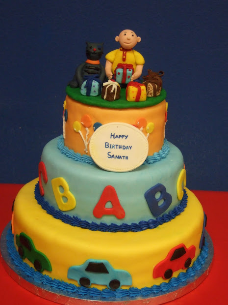Dhanya' Delights Caillou Cake