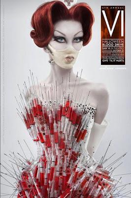 1 - Campaña publicitaria de Saw VI para apoyar a la Cruz Roja