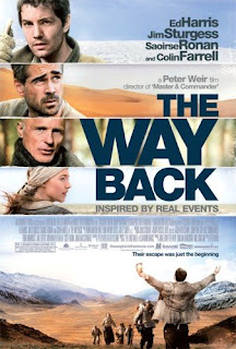 the way back poster - Nuevo póster de The Way Back