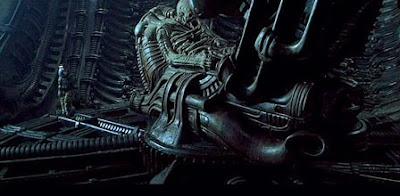 """space - """"Alien Prequel"""", arte conceptual de """"El Piloto"""""""