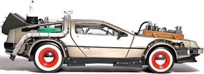 delorean usb2 - Para Navidad...yo quiero un DeLorean