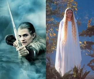 """6.Legolas Galadriel - Cate Blanchet y Orlando Bloom de regreso en """"The Hobbit"""""""
