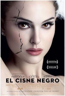 poster blackswan grande - El top 10 de las películas de 2010, de IMDb's