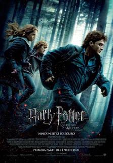 poster final de harry potter y las reliquias de la muerte parte 1 - El top 10 de las películas de 2010, de IMDb's