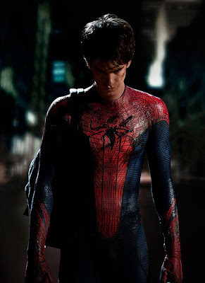 Spiderman 0 - Primera imagen de Andrew Garfield con el traje de Spider-Man.