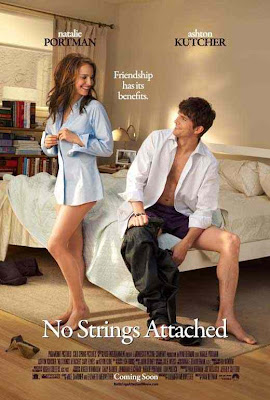 "no strings attached movie poster 1020669589 - Tráiler Rojo de ""No Strings Attached"", lo nuevo de Natalie Portman."