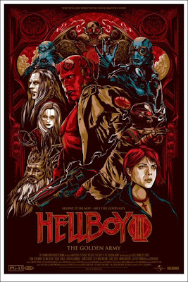 MondoHellboy2 - Posters de Hellboy, de la linea Mondo