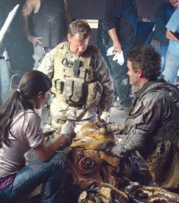 "db fotog 7035 - Fotos desde el set de ""Invasion: Battle Los Angeles"""