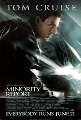 minority report poster - Personajes del Cine - Philip K. Dick
