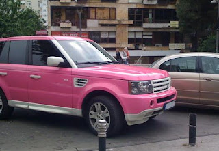 Celebrity Car Drama