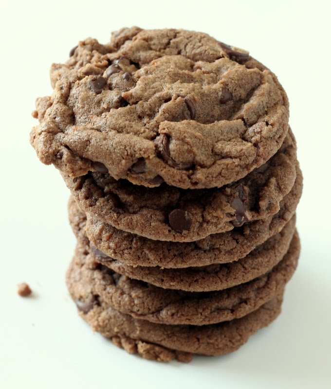 Sugar Cooking: Nutella Chocolate Chip Cookies