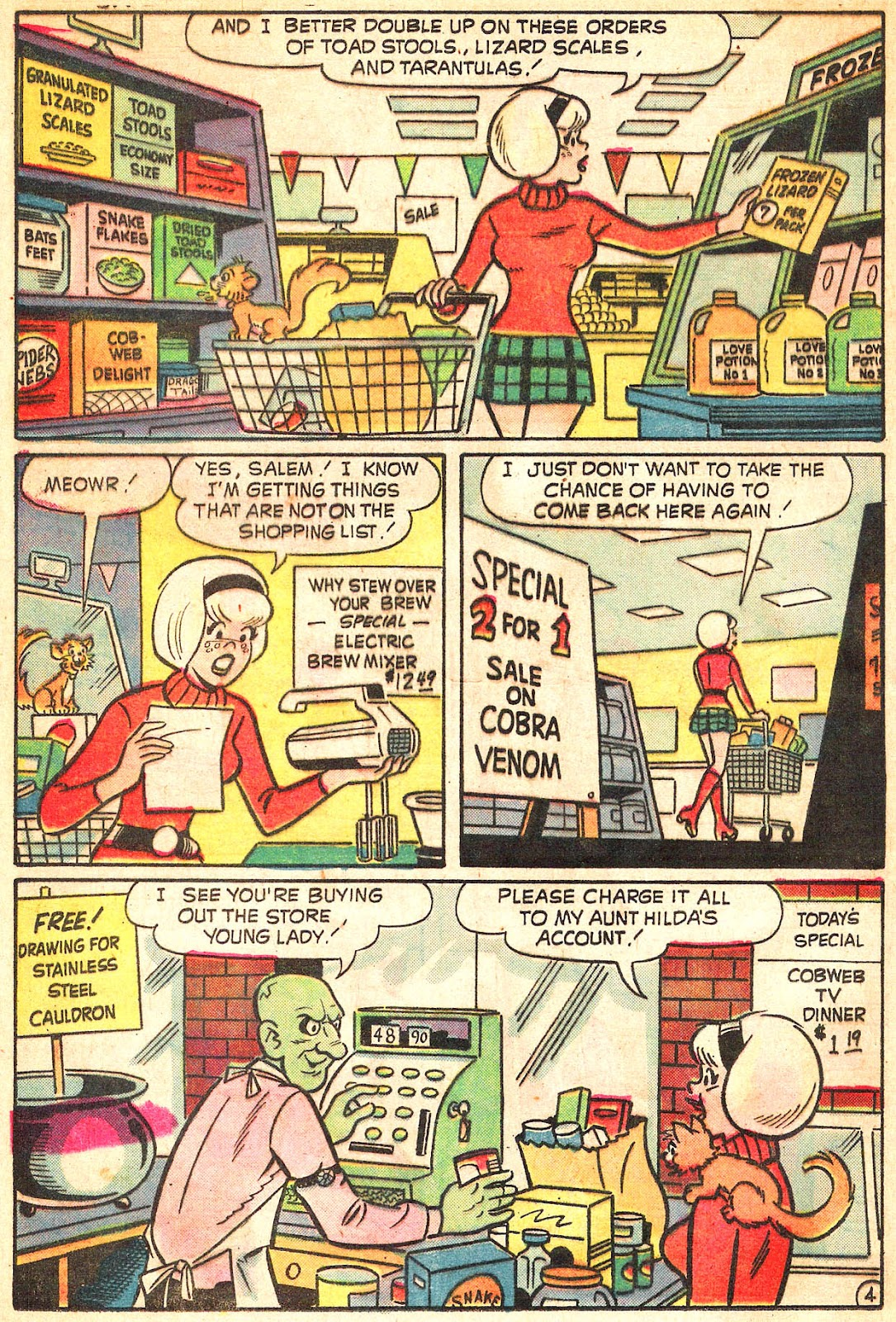 Sabrina The Teenage Witch (1971) Issue #20 #20 - English 16