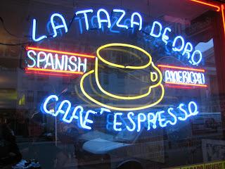 Jeremiah's Vanishing New York: Goodie at La Taza de Oro