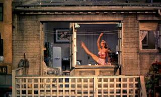 Hotel window man Naked