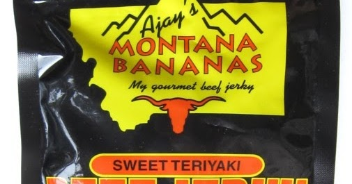 Ajay's Montana Bananas - Sweet Teriyaki ~ Beef Jerky Reviews