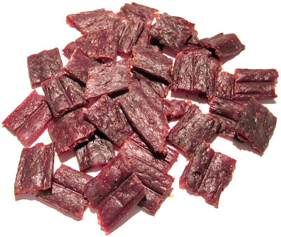 medium hot beef jerky