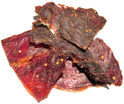 hot and spicy beef jerky