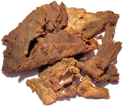 hot and smoky beef jerky