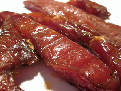 barbecue pork jerky