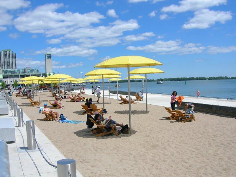 Bobo Feed New On The Toronto Waterfront Sugar Beach