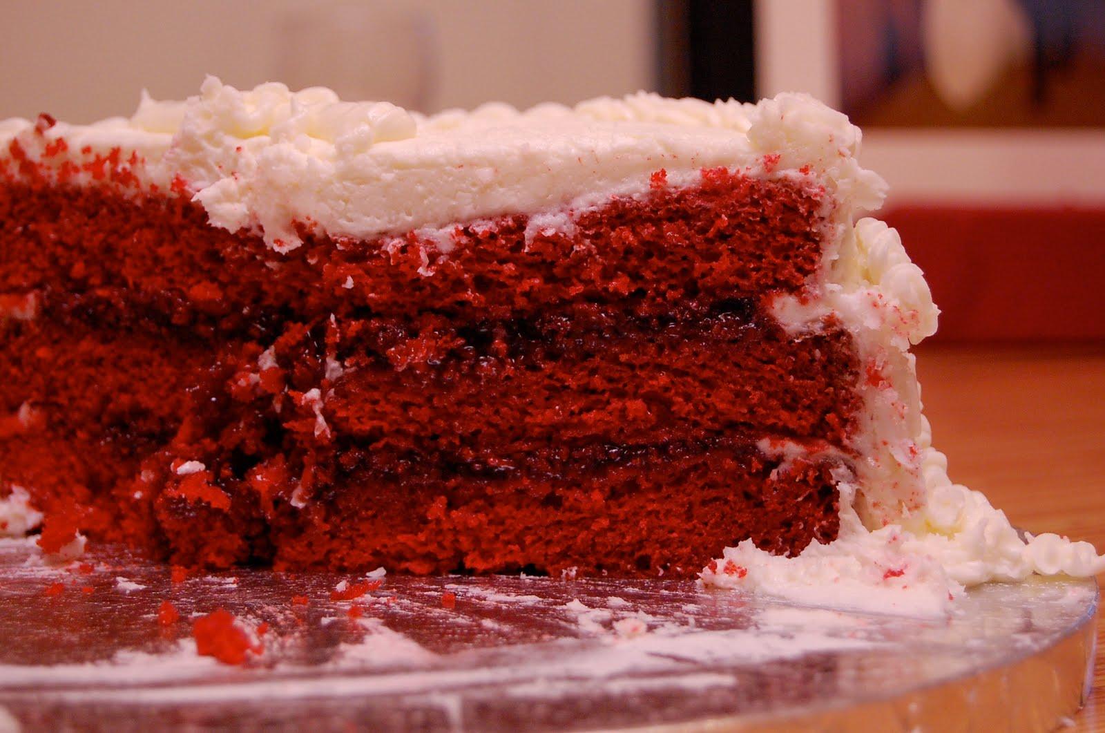 Red Velvet Cake Filling