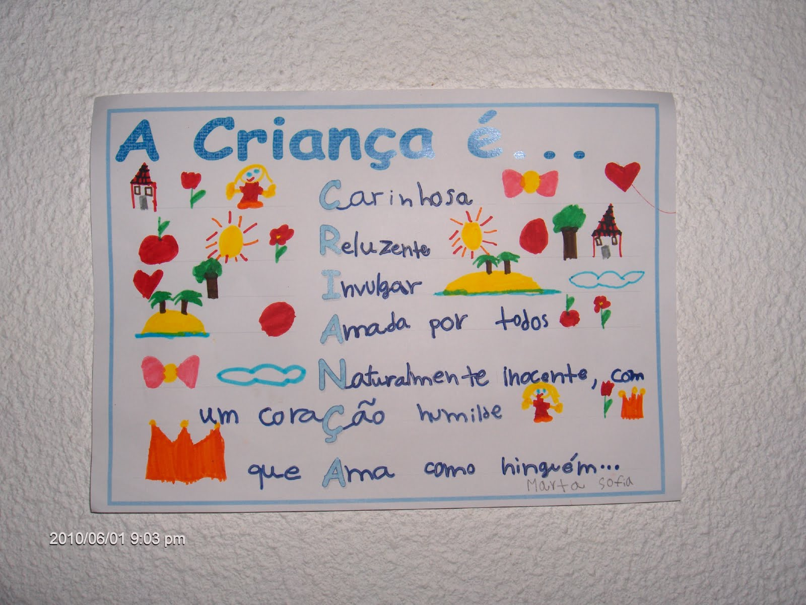 Mensagens Dia Das Criancas: A Turma Da Professora Ermelinda: ACRÓSTICOS