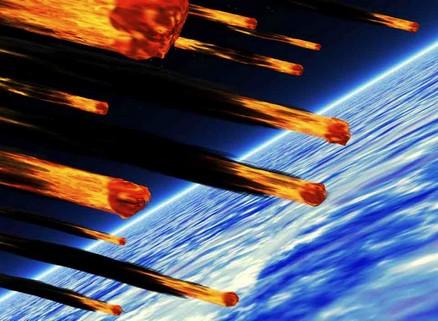 Asteroides caen sobre la Tierra en el año 2029