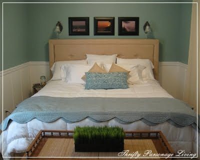 wainscoting bedroom. Master Bedroom Remodel With White Wainscoting Panels Remodelaholic