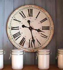 0957f1461 Sivs hus: Vintage-klokke på kjøkkenet