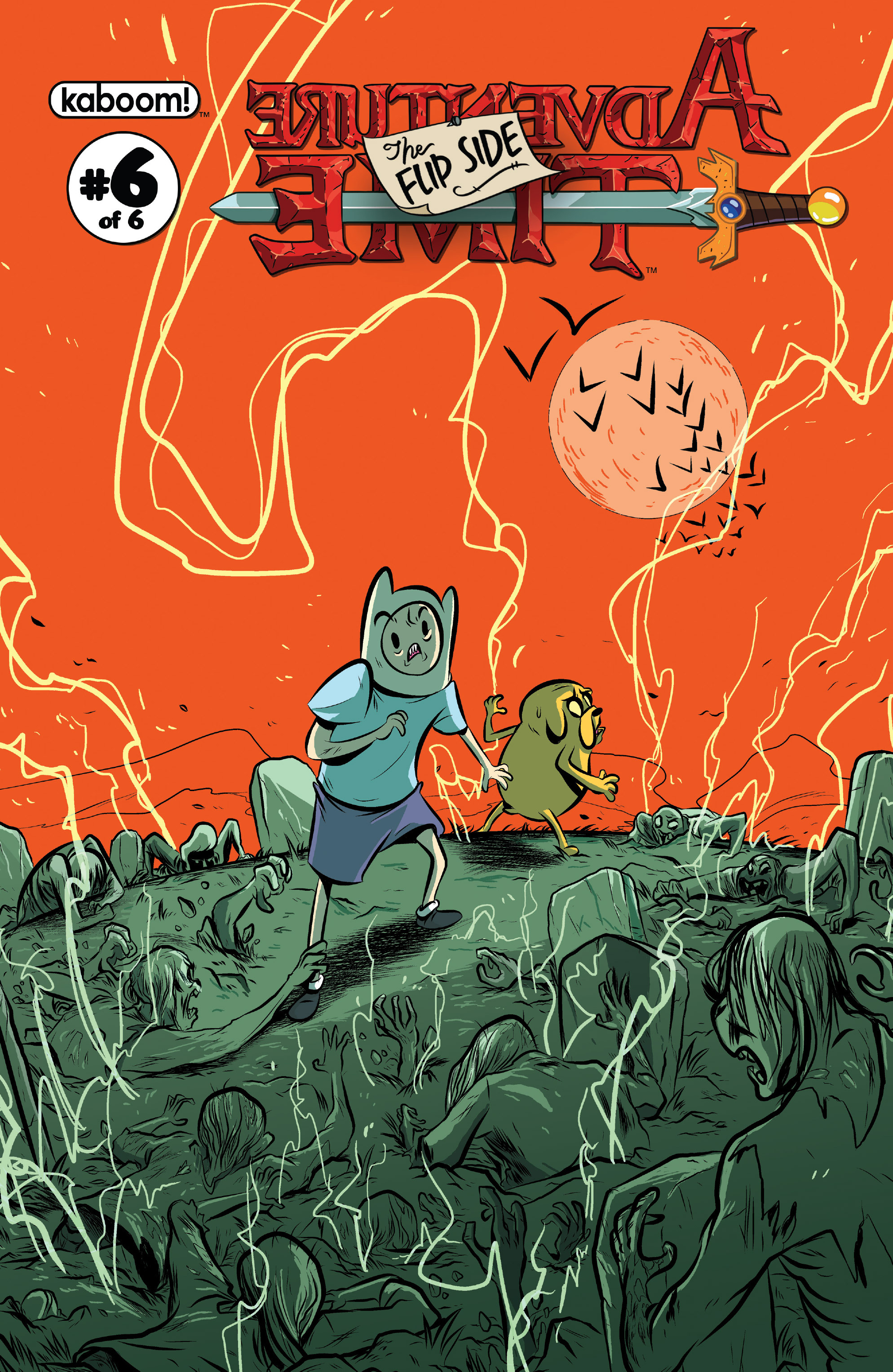 Read online Adventure Time: The Flip Side comic -  Issue #6 - 1