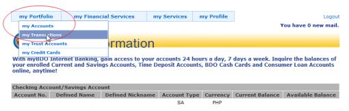 verify palpal using BDO debit card