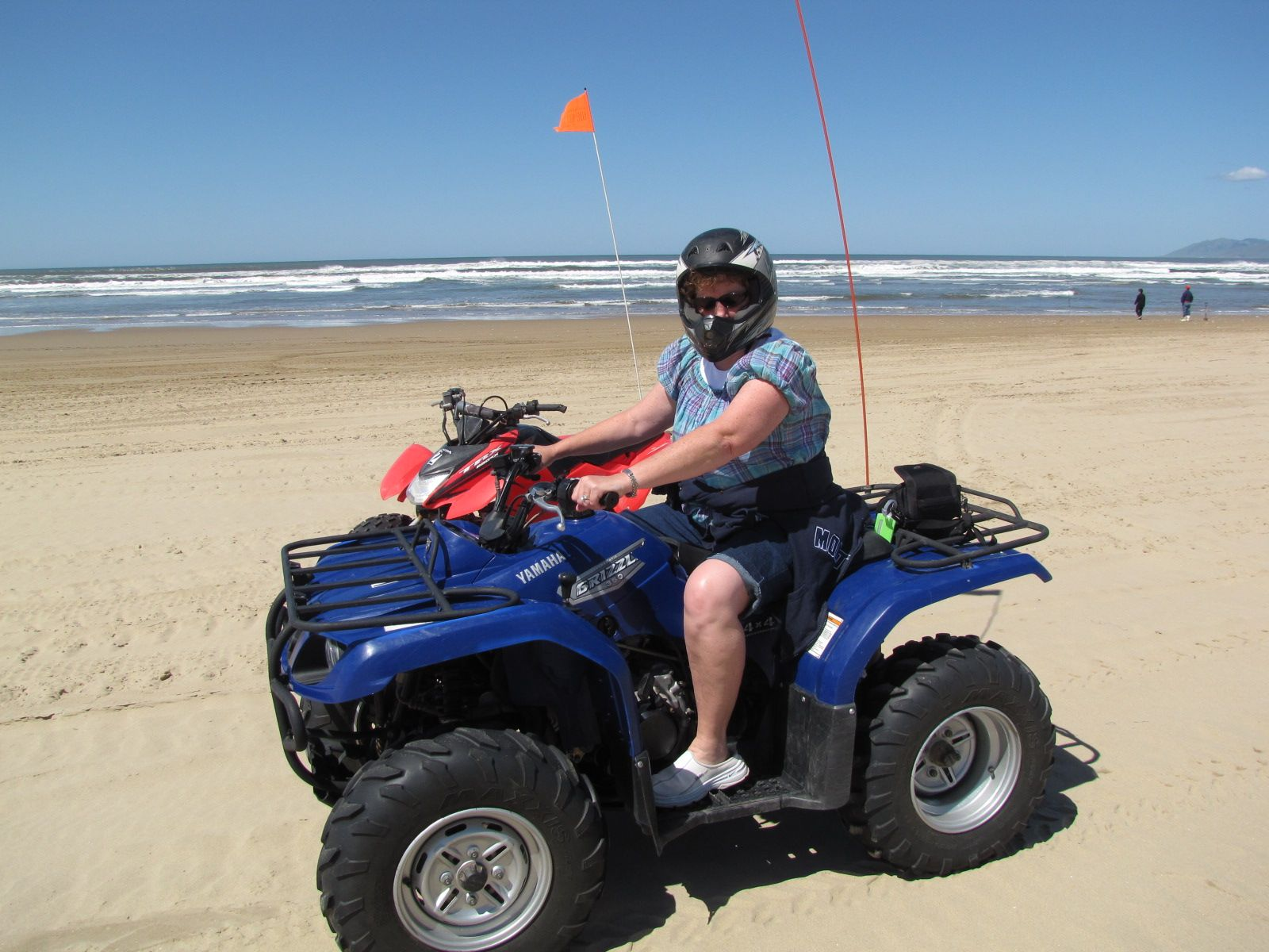 I Am Sure There Are Way Too Many Pictures Of Us Riding Atvs At Pismo Beach But It Was Stunningly Beautiful And Thrilling As Well So Just Can T Help