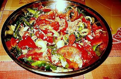 La Cuisine De Ranjiva Salade Aux Poivrons Et Jambon Cru