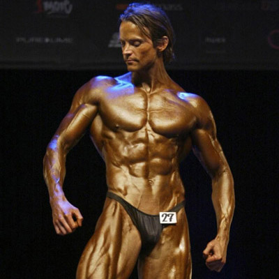 David Höök — Bodybuilding Stage Photo
