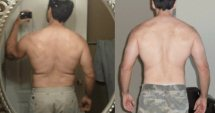 John's back —  Before/After Leangains