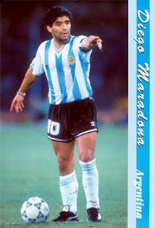 Diego Maradona July 2009