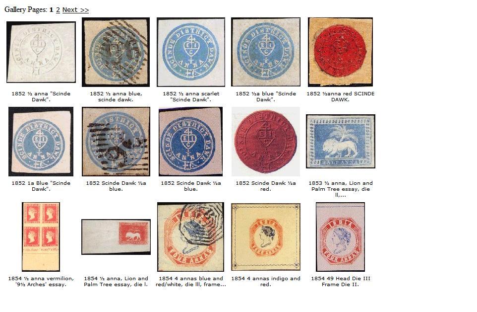 stamps details stamps pre independence  stamps pre independence