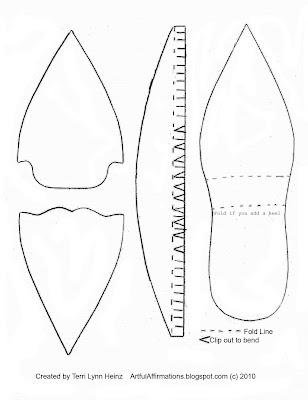 Artful Affirmations: The Elegant Shoe Tutorial