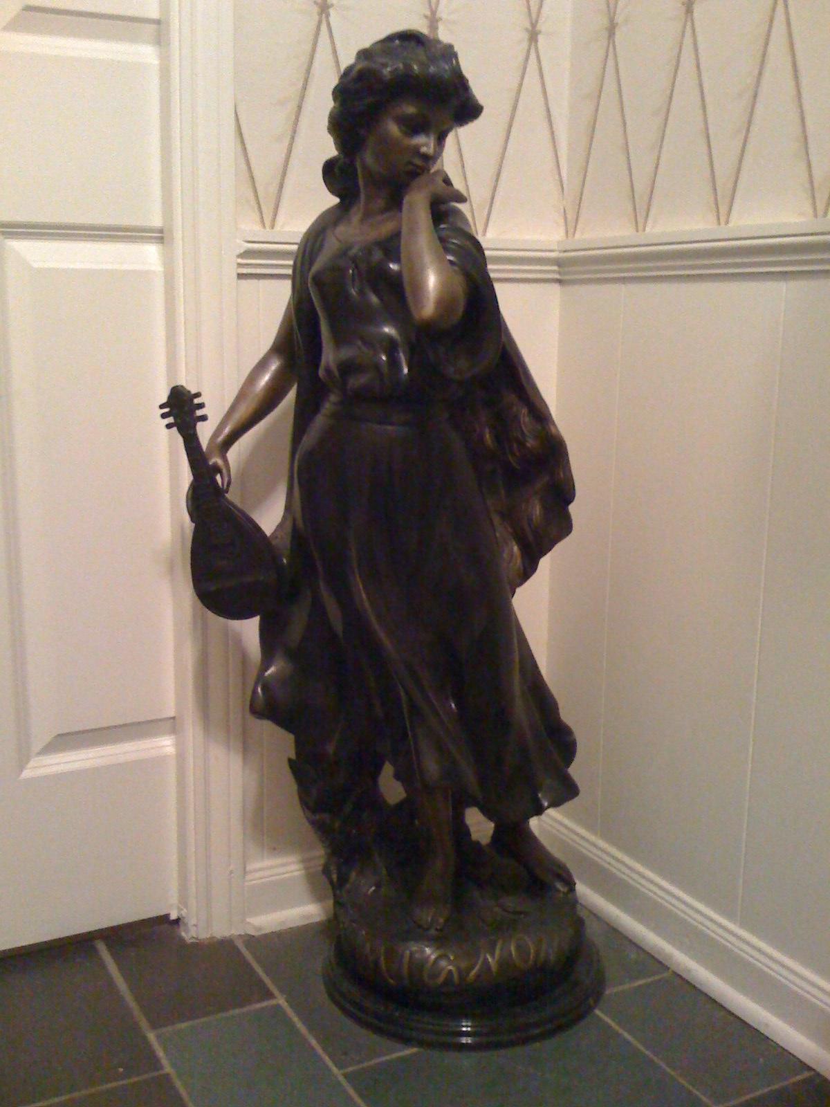 Tillman Estate Sale Bronze Quot Mignon Quot Statue 1 200