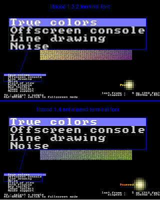 More antialiased fonts