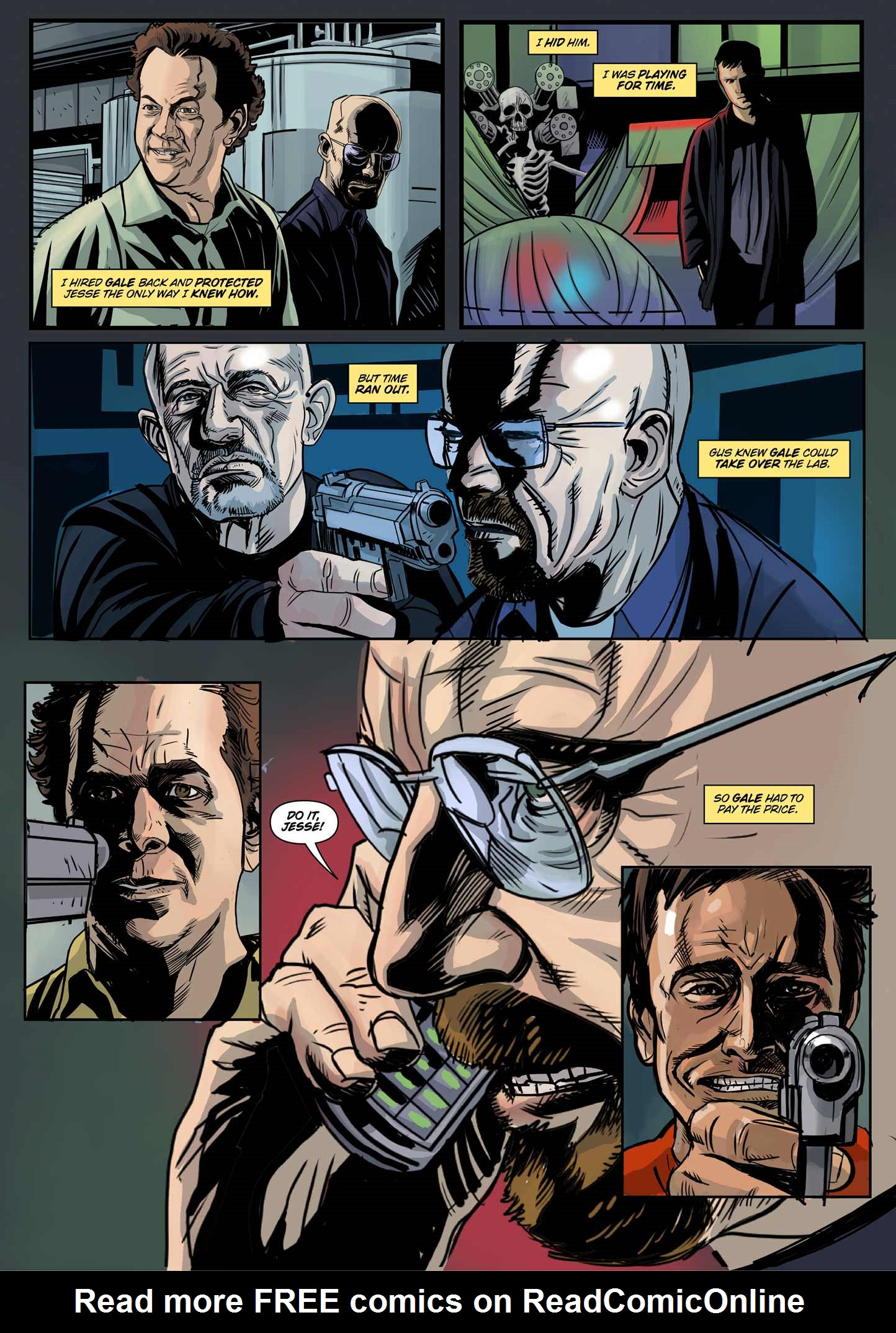Read online Breaking Bad: All Bad Things comic -  Issue # Full - 13