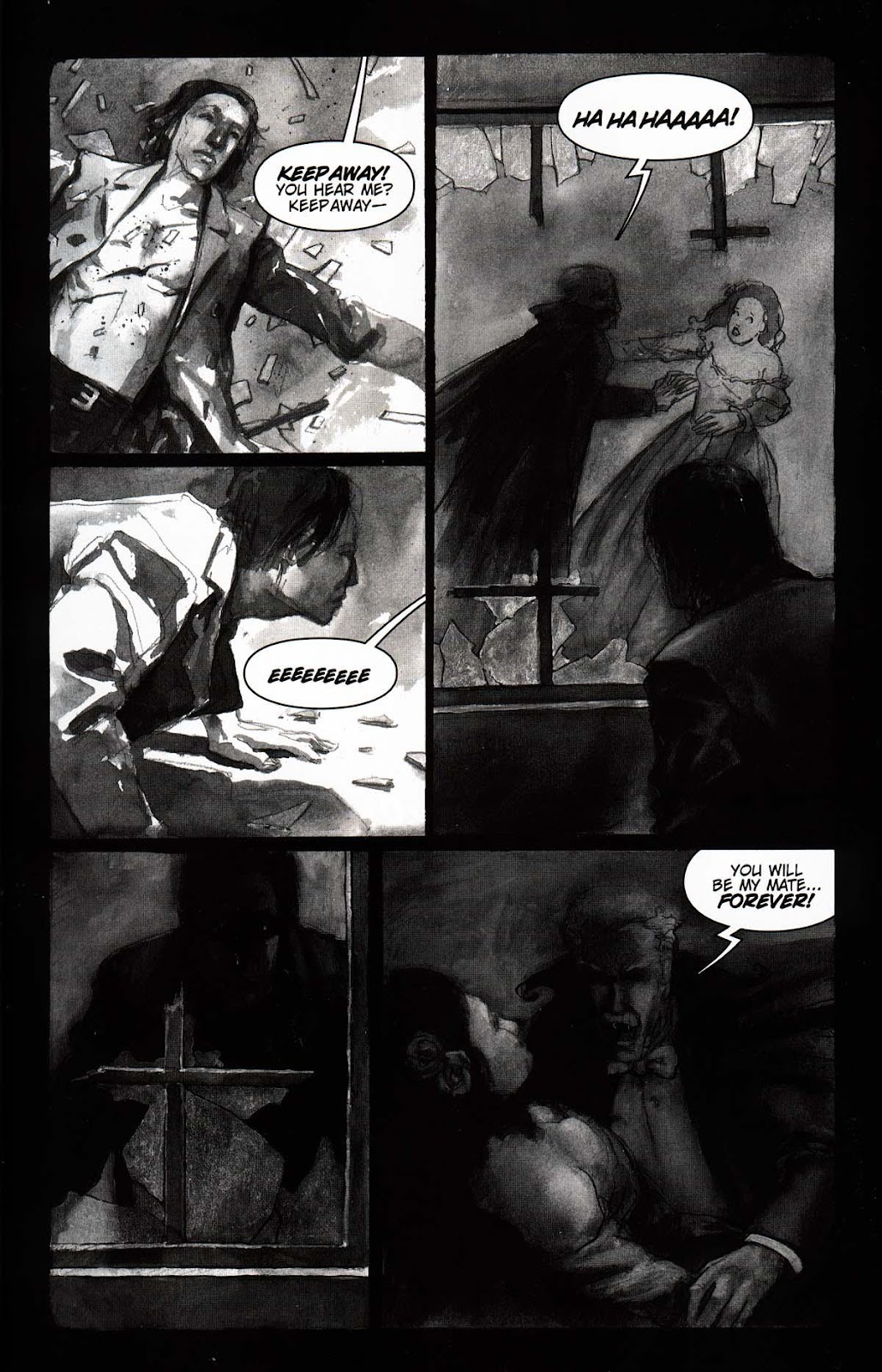 Read online Vampire the Masquerade comic -  Issue # Toreador - 7