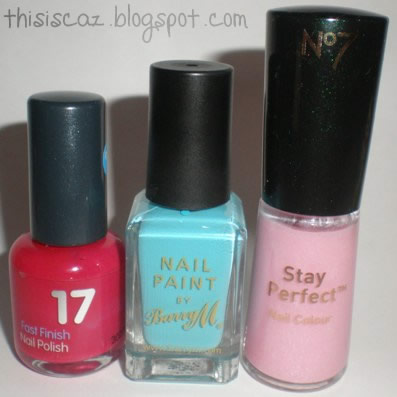 Nail Polishes - My Top 3