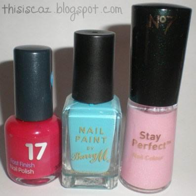 Nail Polishes - My Top 3