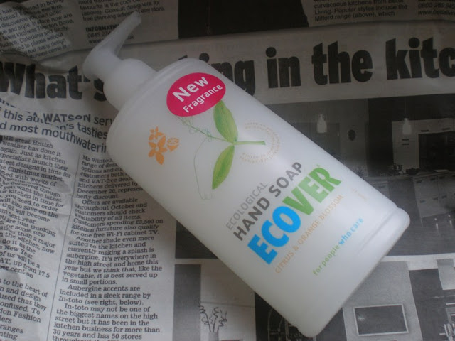 Eco friendly soap