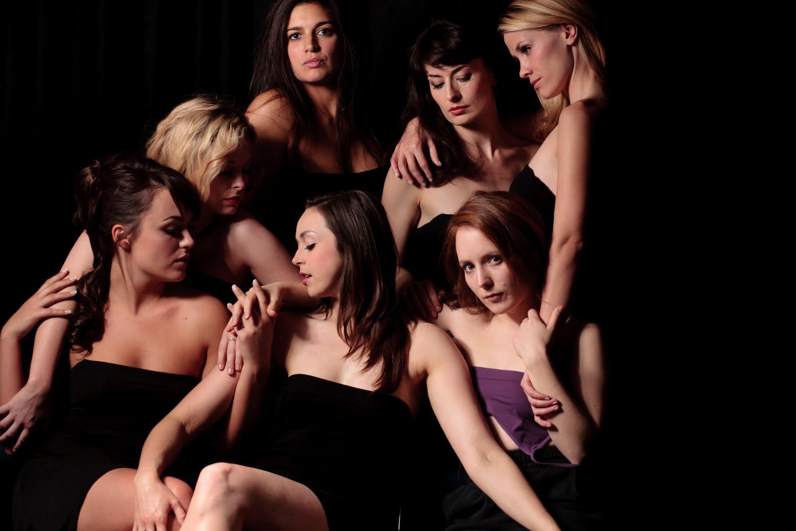 фотографии групповухи лесбиянок - 6