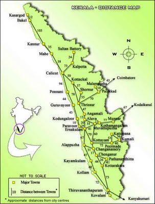 Map of Munnar | Tourist Map of Munnar | Munnar Tourism Map