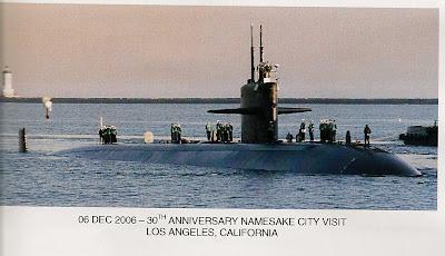 San Pedro & Los Angeles Harbor History: USS LOS ANGELES